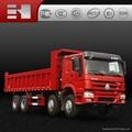 howo heavy duty dump truck sale made in