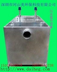 污水提升隔油池