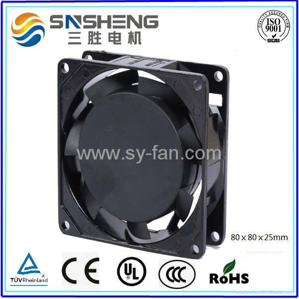 80ⅹ80ⅹ25mm AC Cooling Fan  1