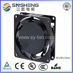 80ⅹ80ⅹ25mm AC Cooling Fan