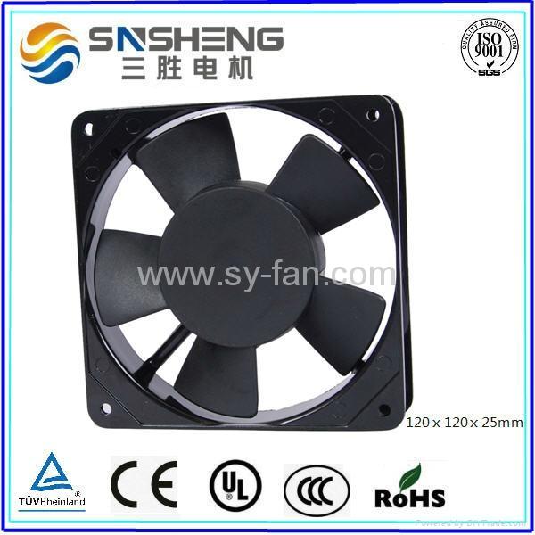 120ⅹ120ⅹ25mm AC Cooling Fan 1