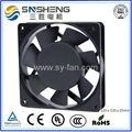 120ⅹ120ⅹ25mm  7 Impellers AC Cooling Fan