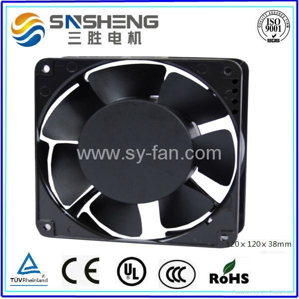 120ⅹ120ⅹ38mm  7 Impellers AC Cooling Fan 1