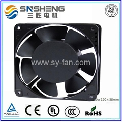 120ⅹ120ⅹ38mm  7 Impellers AC Cooling Fan