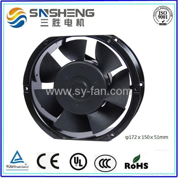 φ172ⅹ150ⅹ51mm  7 Impellers AC Cooling Fan 1