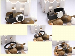 magnetic leather bracelet leather bracelet