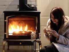 欧式真火独立式壁炉装饰壁炉温莎