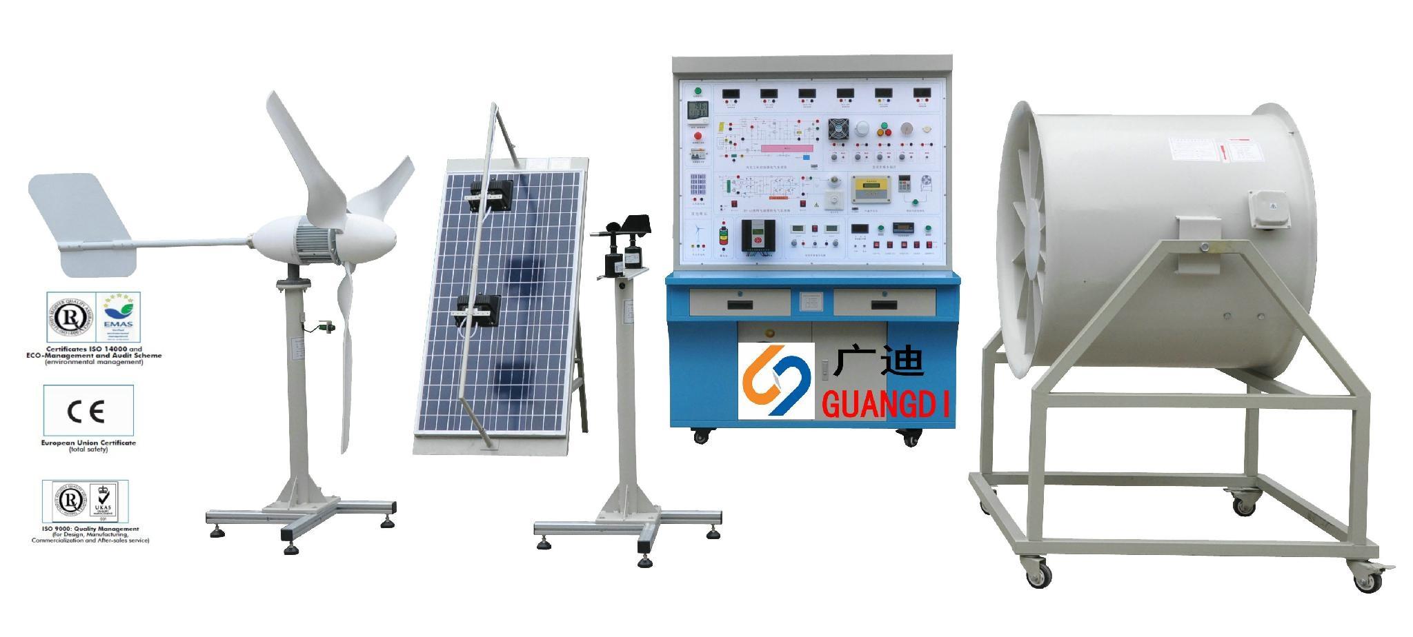 solar and wind generator training system 1