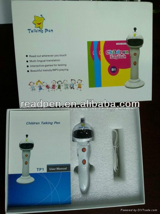 Learning Machine Smart Point Reading Pen with MP3 player&Record in 5 languages 5