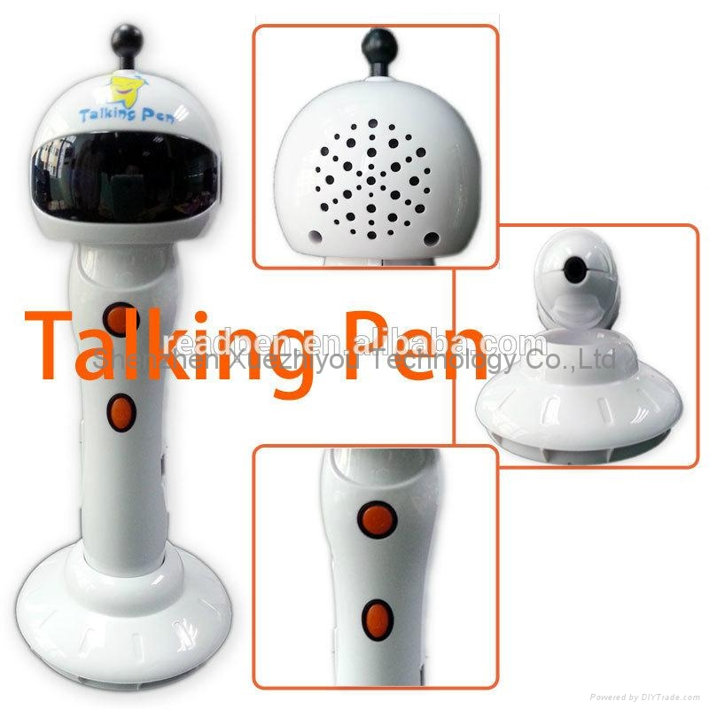 Learning Machine Smart Point Reading Pen with MP3 player&Record in 5 languages 2