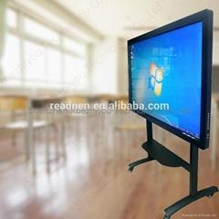 Eudcation Electronic Dual Touch Whiteboard Wall-mounted HD Multimedia Machine