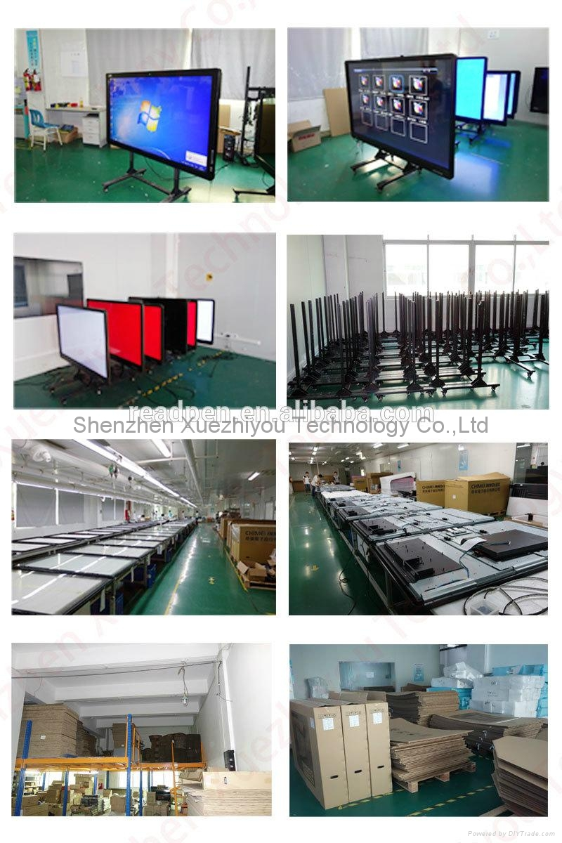 On-Line Import LED&LCD Screen TV Multi Infrared Touch Interactive Whiteboard  5