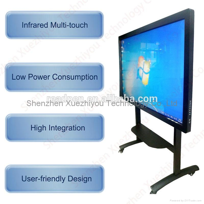 On-Line Import LED&LCD Screen TV Multi Infrared Touch Interactive Whiteboard  3