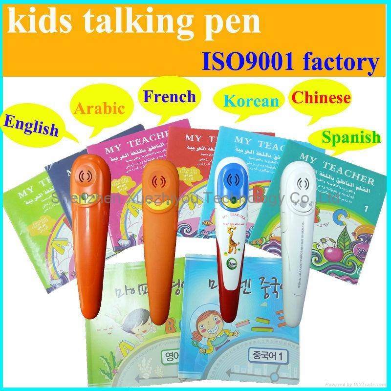 Best Kids Gifts Magic Talking Pen for Children Languages Learning Machine 2