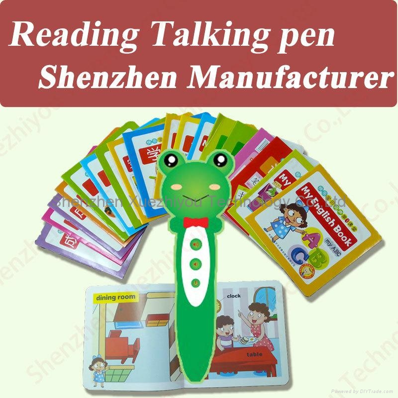 Hot New Toys Baby's Teacher Electronic Talking Pen for kids 1