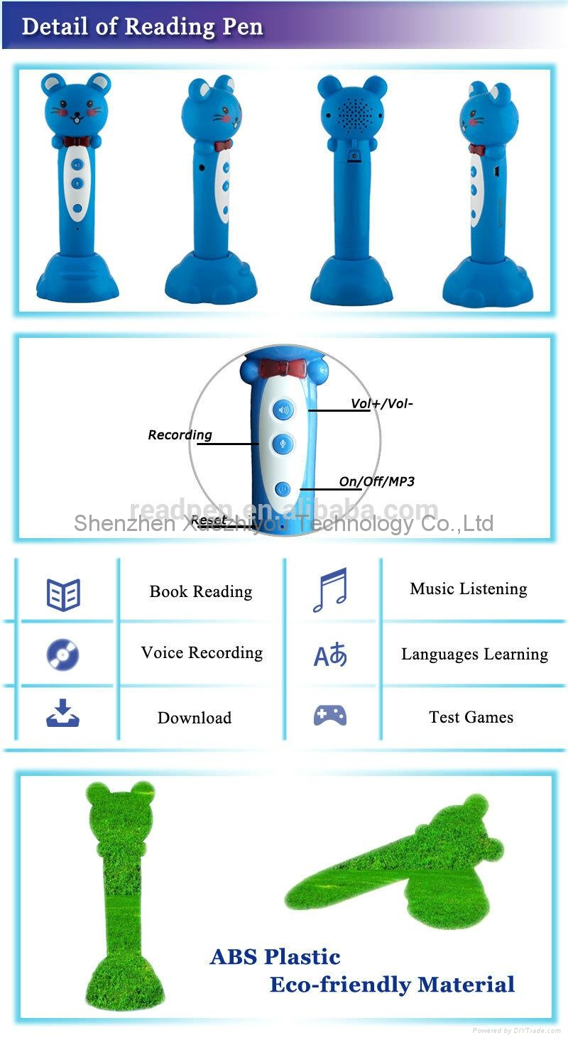 Kids Talking Pen translator with Sound books China Reading pen Factory 3