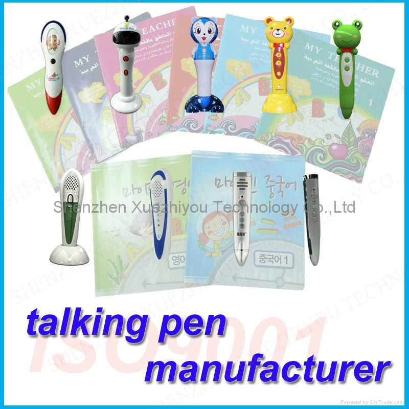 Customized Education Toys Kids Reader Pen OEM/ODM Manufacturer 5