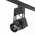 45w cob led track light dimmable zoomable for large photography lighting