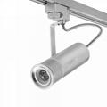 15w focusable modern led track spot light for fine art gallery
