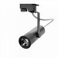 15w focusable modern led track spot light for fine art gallery 2