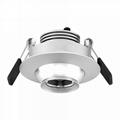 3w eyeball led downlight adjustable beam angle focus for museum showcase 4