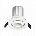 7W led led recessed light for cabinet showcase