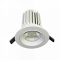 25w cob LED recessed downlight for shop lighting