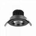 3 inch 7W gimbal anti-glare led recessed lighting luminaire retrofit  2