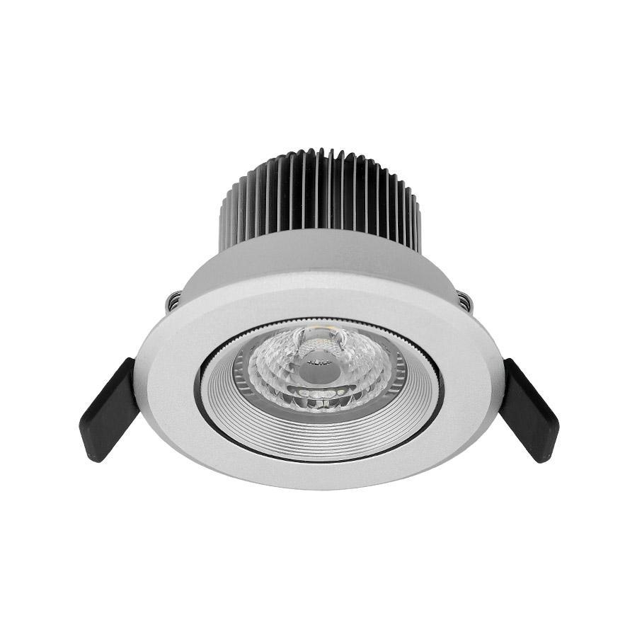 3 inch 7W gimbal anti-glare led recessed lighting luminaire retrofit  3