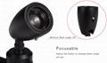 adjustable beam angle mini track led spotlight for showcase