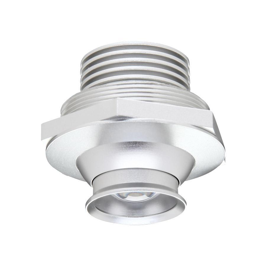 1w black directional adjustable led downlights for display cabinet