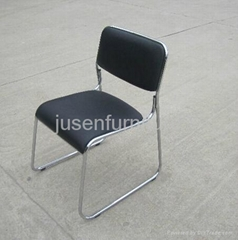 hot sale office chair pu leather metal frame