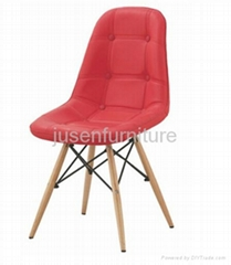 2014 hot sale modern simple design dining chair