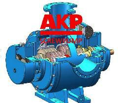 油田原油輸送泵A4NG-260/130-AHOKIA-G 2
