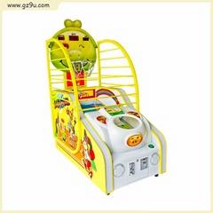 Fun Children Game Machine Making Money Basketball Machine
