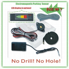Electromagnetic Parking sensor with LED dislay