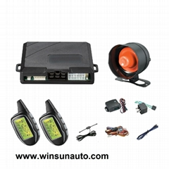 two way car alarm with engine start