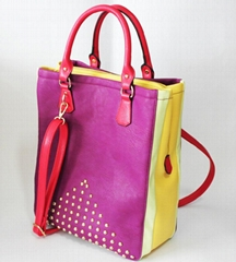 Candy color tote