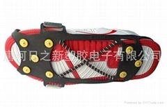 特种橡胶止滑钉鞋套