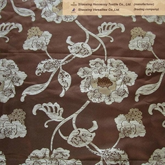 polyester drapes fabrics using jacquard pattern