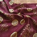 polyester drapes fabrics using jacquard pattern  5