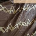 window jacquard curtain fabric tartan curtain fabric 3