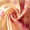 printed sheer curtain voile fabric made