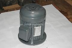 vertical hydraulic oil pump motor