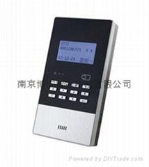 舒特中文语音考勤机打卡机