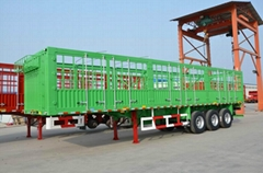 11.5M Three axles long lock bar fence semitrailer