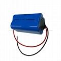 LED便攜式照明燈電池7.4V 1