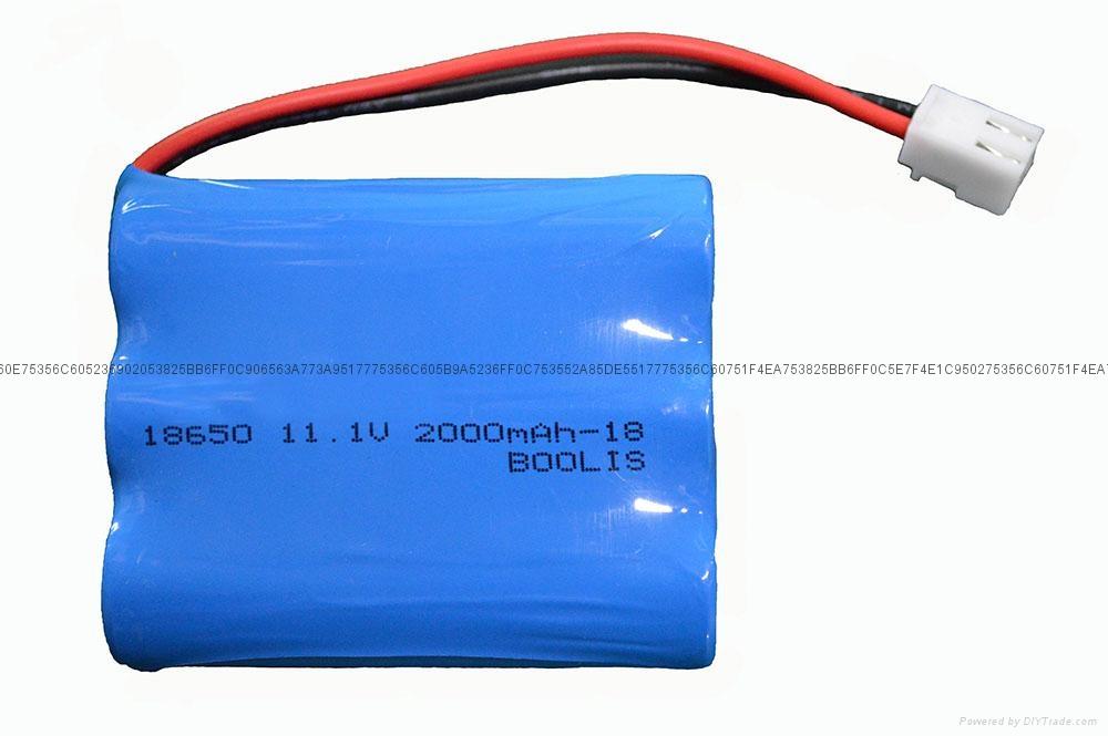 电动遥控玩具电池11.1V 1