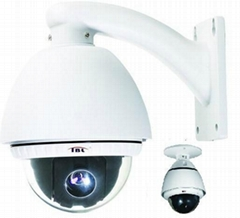 10X Zoom Outdoor PTZ Camera OSD Waterproof CCTV Camera