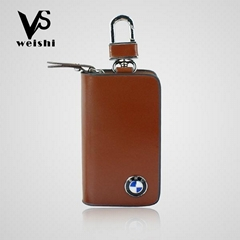 High quality leather car key case in stock